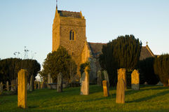 St Bridget Kerk Royalty-vrije Stock Foto's