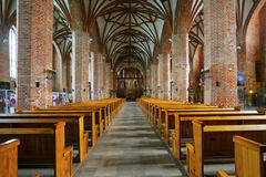 St. Bridget's church, Gdansk Stock Image