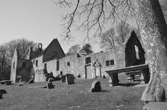 St Bridgets Kirk Cemetery fotografia de stock