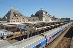 St-Brieuc SNCF station Royalty Free Stock Photo