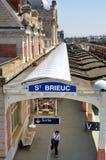 St Brieuc station Royalty Free Stock Photos