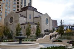 St. Cabrini Shrine Royalty Free Stock Photo