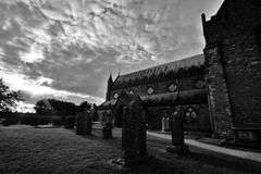 St. Canice Cathedral, Kilkenny Royalty Free Stock Images