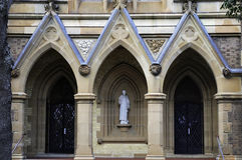 St Canice Catholic Church in Darlinghurst, Sydney Royalty-vrije Stock Afbeeldingen