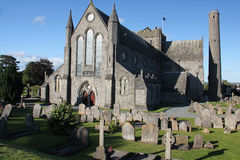 St Canice's Cathedral Stock Photo