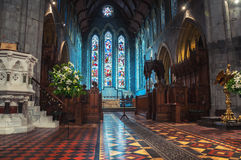 St Canice's Cathedral in Kilkenny Royalty Free Stock Photo