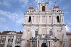 St Casimir Church, Vilnius Stock Image