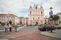 St. Casimir kościół w Vilnius Obrazy Royalty Free
