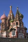 St. Catedral da manjericão (Kremlin, Moscovo, Rússia) Imagens de Stock Royalty Free