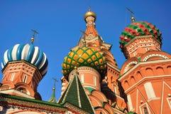 St. Catedral da manjericão. Moscovo. Foto de Stock