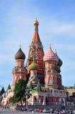 St. Catedral da manjericão. Moscovo. Foto de Stock Royalty Free