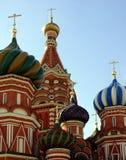St. Catedral da manjericão, Moscovo, Rússia foto de stock
