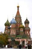 St. Catedral da manjericão (Moscovo, Rússia) fotografia de stock