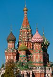 St. Catedral da manjericão, Rússia, Moscovo Fotografia de Stock