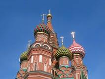 St Catedral de la albahaca en Moscú, Rusia Imagen de archivo libre de regalías