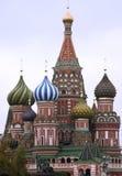 St. Catedral de la albahaca (Kremlin, Moscú, Rusia) foto de archivo