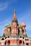 St. Catedral de la albahaca. Moscú. imagenes de archivo