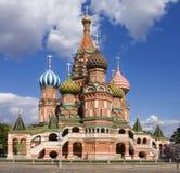 St. Catedral de la albahaca: Moscú, Rusia, Plaza Roja foto de archivo libre de regalías