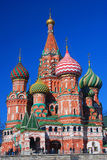 St Catedral de la albahaca, Plaza Roja, Moscú, Rusia Imagenes de archivo
