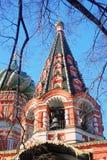 St Catedral de la albahaca, Plaza Roja, Moscú, Rusia Foto de archivo