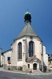 St. Catherine church in Banska Stiavnica, Slovakia Royalty Free Stock Photography