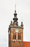 St. Catherine church in Gdansk. Poland Stock Photos