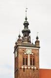 St. Catherine church in Gdansk. Poland Stock Photos