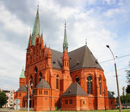 St. Catherine Church in Torun Stock Photography