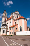 St. Catherine Church in Vilnius, Lithuania Royalty Free Stock Photo