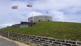 St Catherine de fort en Bermudes Photographie stock