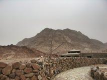 St Catherine de monastère de Sinai Photographie stock libre de droits