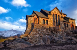 St Catherine de Sienna Chapel no St Malo Retreat imagens de stock royalty free