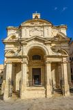 St. Catherine of Italy church in Valetta Royalty Free Stock Photos