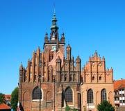 St. Catherine Kerk, Gdansk royalty-vrije stock fotografie