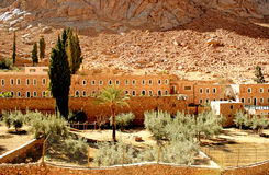 St. Catherine monastery stock images