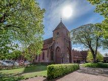 St Catherine Monastery in old Ribe, Denmark stock image