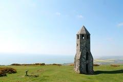 St Catherine Retorica, het Eiland Wight, het UK royalty-vrije stock fotografie