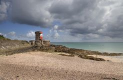 St Catherine's Bay, Jersey, Great Britain Royalty Free Stock Photos
