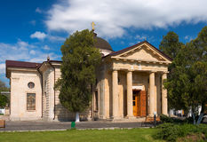 St. Catherine`s Cathedral in Kherson, Ukraine Royalty Free Stock Photos