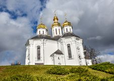 St. Catherine`s Church, Chernihiv Ukraine Europe European cultural monuments. Early 18th century. Chernihiv, Ukraine - October 19, 2016: St. Catherine`s Church royalty free stock photo