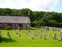 St Catherines Church, Eskdale, Lake District Stock Photography