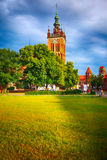 St. Catherine's Church in Gdansk, Poland Europe Stock Photography