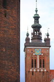 St. Catherine's Church in Gdansk, Poland Royalty Free Stock Images