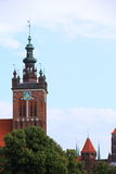 St. Catherine's Church in Gdansk, Poland Stock Photo
