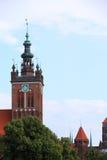 St. Catherine's Church in Gdansk, Poland Stock Photo