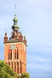 St. Catherine's Church in Gdansk, Poland Royalty Free Stock Image
