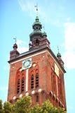 St. Catherine's Church in Gdansk, Poland Stock Image