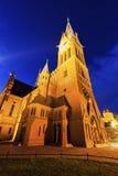 St. Catherine`s Church in Torun. Torun, Kuyavian-Pomeranian, Poland stock photography