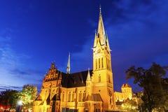St. Catherine& x27;s Church in Torun. Torun, Kuyavian-Pomeranian, Poland royalty free stock images