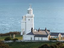 Free St. Catherine`s Lighthouse Stock Image - 120393491